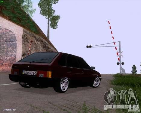 ВАЗ 2109 для GTA San Andreas двигатель