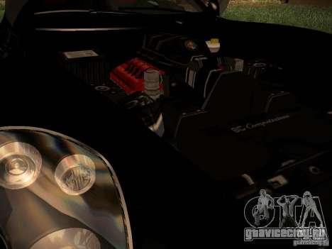 Alfa Romeo 8C Spider 2012 для GTA San Andreas вид справа