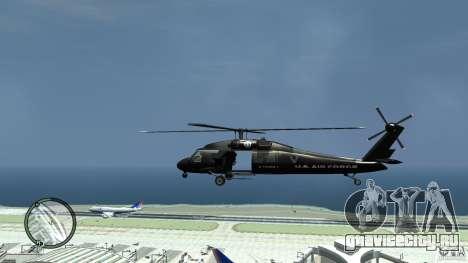 U.S. Air Force (annihilator) для GTA 4 вид слева