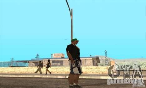 WEAPON BY SWORD для GTA San Andreas четвёртый скриншот