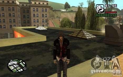 Alex Mercer v2.0 для GTA San Andreas второй скриншот