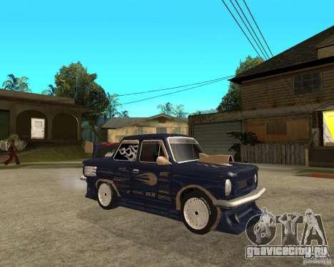 ЗАЗ - 968м STREET tune для GTA San Andreas вид справа