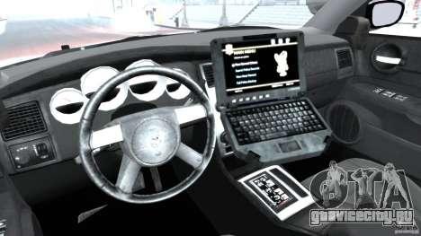 Dodge Charger Japanese Police [ELS] для GTA 4 вид сзади