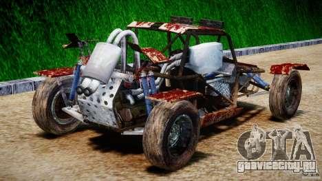 Buggy Avenger v1.2 для GTA 4 вид сбоку