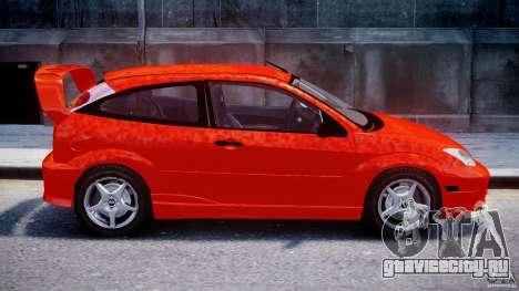 Ford Focus SVT WRC Street для GTA 4 вид изнутри