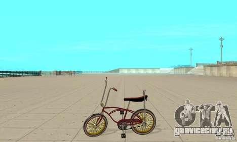 CUSTOM BIKES BIKE для GTA San Andreas вид слева