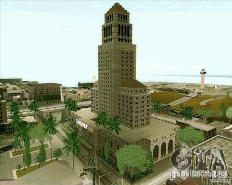 Los Santos City Hall для GTA San Andreas седьмой скриншот