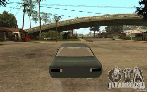 Chevrolet Cheville для GTA San Andreas вид сзади слева