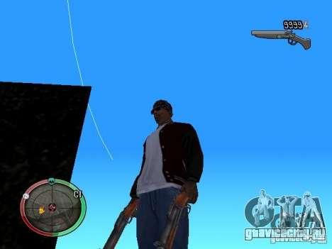 Изменение стиля стрельбы из Узи и Обреза для GTA San Andreas второй скриншот