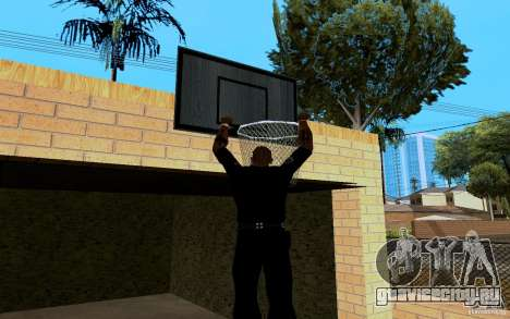 Новый дом Биг Смоука для GTA San Andreas восьмой скриншот
