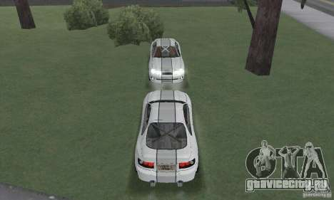 Toyota Celica GT4 2000 для GTA San Andreas вид изнутри