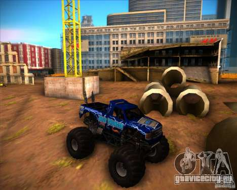 Monster Truck Blue Thunder для GTA San Andreas