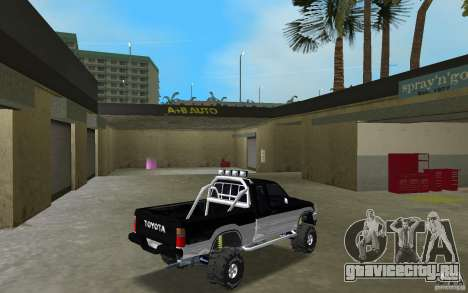 Toyota Hilux Surf для GTA Vice City вид справа