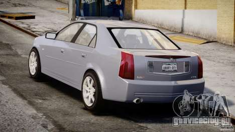 Cadillac CTS-V для GTA 4 вид сбоку