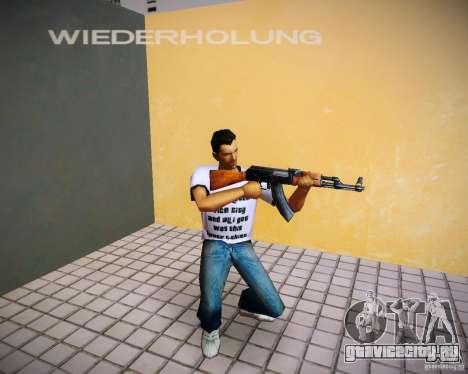 АК-47 для GTA Vice City второй скриншот
