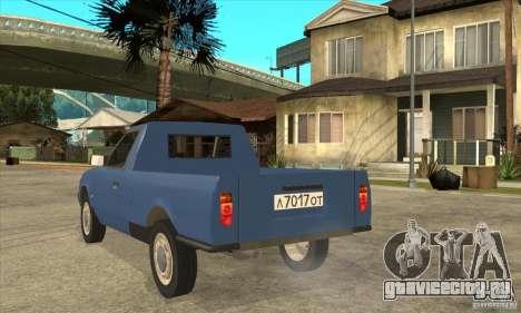 АЗЛК 2335 для GTA San Andreas вид сзади слева