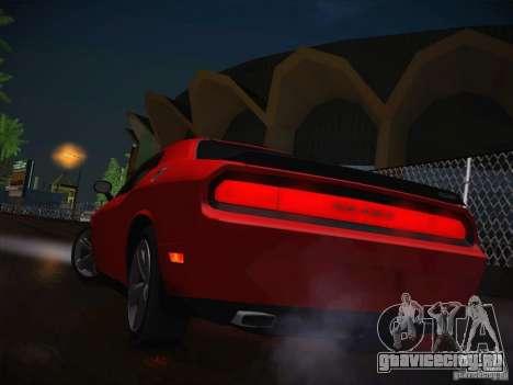 Dodge Challenger SRT8 v1.0 для GTA San Andreas вид сбоку