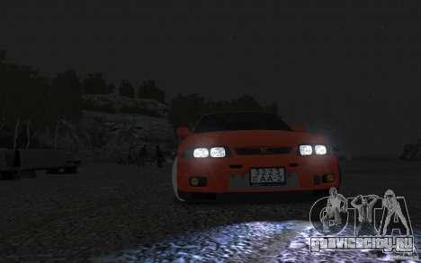 Nissan Skyline для GTA 4 вид сзади слева