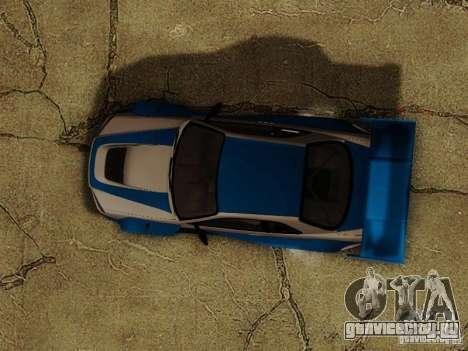 Nissan Skyline GTR34 DTM для GTA San Andreas вид сбоку