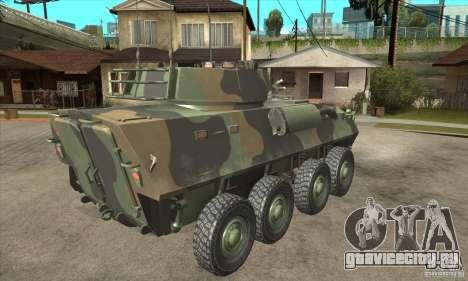 LAV-25 для GTA San Andreas вид справа