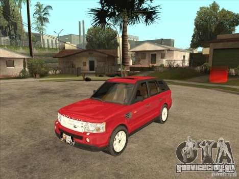 Range Rover Sport 2007 для GTA San Andreas