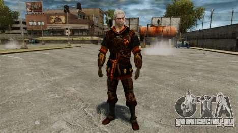 Геральт из Ривии v4 для GTA 4