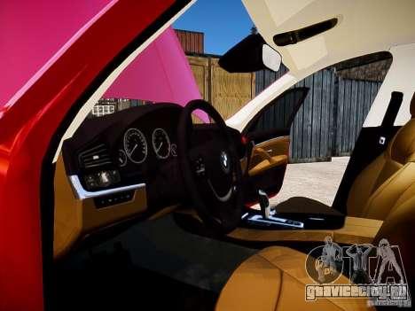 BMW 525i Touring для GTA 4 вид сбоку