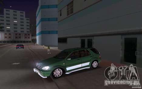 Mercedes-Benz ML55 Demec для GTA Vice City вид сзади слева