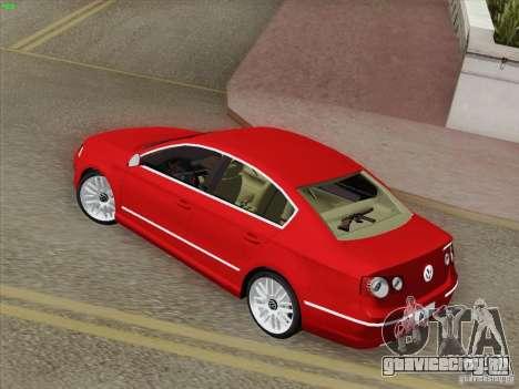 Volkswagen Magotan 2011 для GTA San Andreas