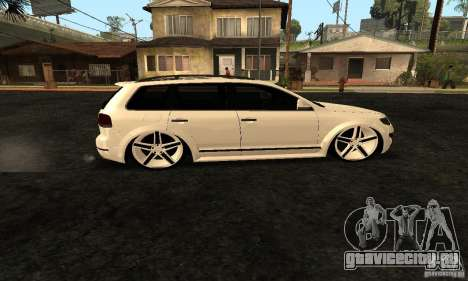 Volkswagen Touareg Dag Style для GTA San Andreas вид слева