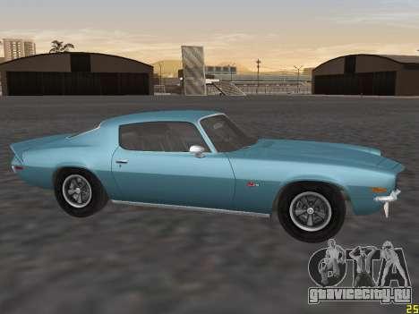 Chevrolet Camaro Z28 1971 для GTA San Andreas