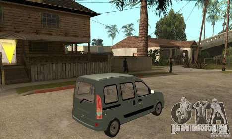 Renault Kangoo 2005 для GTA San Andreas вид справа