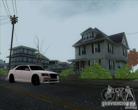 Chrysler 300 SRT-8 Final 2011 для GTA San Andreas вид сзади