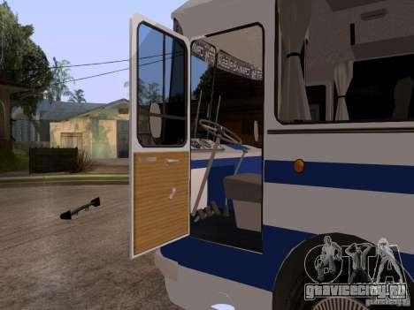 ЛАЗ 697Р для GTA San Andreas вид сзади