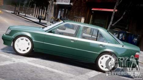 Mercedes-Benz W124 E500 1995 для GTA 4 салон