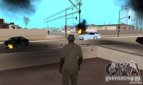 Hot adrenaline effects v1.0 для GTA San Andreas