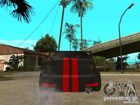 Dacia Logan Tuned для GTA San Andreas вид сзади слева