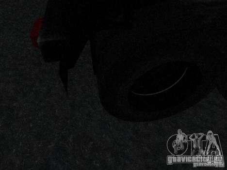 Прицеп к Armored Mack Titan Fuel Truck для GTA San Andreas вид изнутри