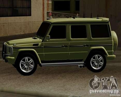 Mercedes-Benz G500 1999 для GTA San Andreas вид слева