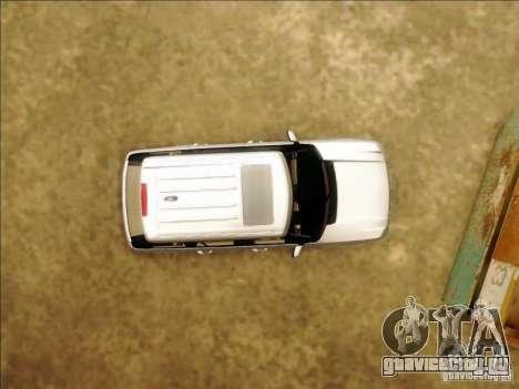 Land-Rover Range Rover Supercharged Series III для GTA San Andreas вид сбоку