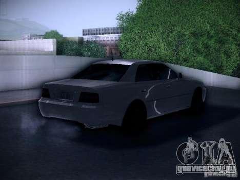 Toyota Chaser 100 для GTA San Andreas вид сзади слева