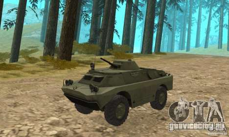 БРДМ-2 Стандартный вариант для GTA San Andreas вид слева