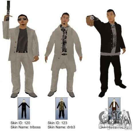 New Yakuza для GTA San Andreas второй скриншот