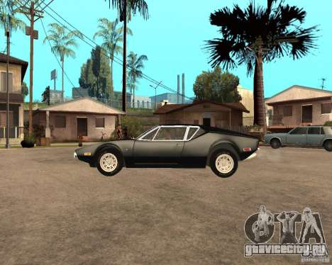 1971 De Tomaso Pantera для GTA San Andreas вид слева
