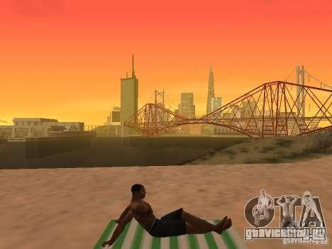 Коврик для отдыха для GTA San Andreas седьмой скриншот