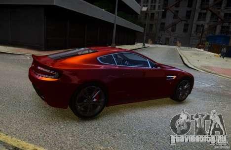 Aston Martin V12 Vantage 2010 для GTA 4 вид слева