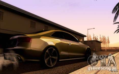 Audi RS5 для GTA San Andreas вид справа