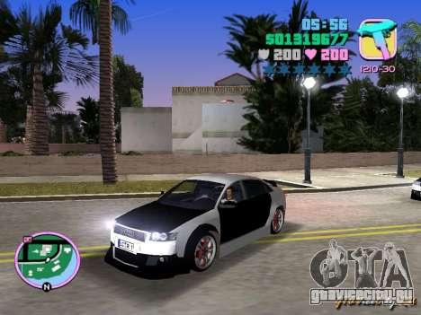 Audi S4 Tuned для GTA Vice City вид слева