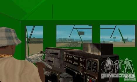 THE GO Transit Train для GTA San Andreas вид сзади