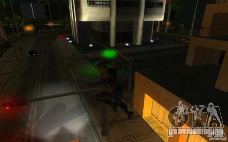 Cyrax из Mortal kombat 9 для GTA San Andreas третий скриншот
